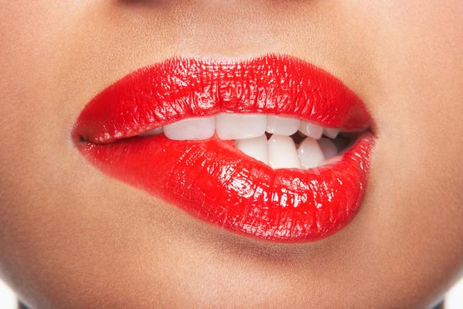 labbra sexy pubblicità