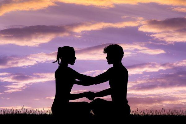 coppia in meditazione