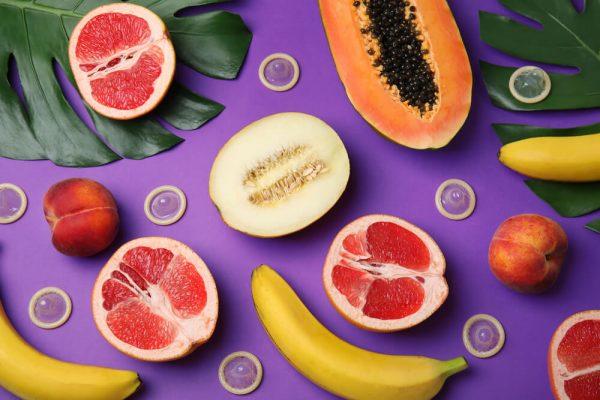 Preservativi aromatizzati frutta