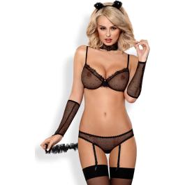 Vestito da Catwoman Sexy Kitty Obsessive