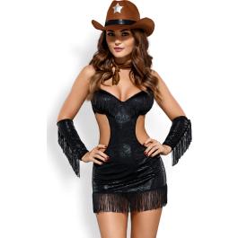 Costume da sceriffa sexy Sheriffia Set Obsessive