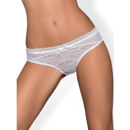 Mutandine sexy Swanita Panties White Obsessive