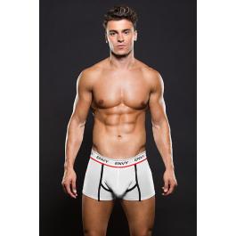 Boxer Mesh Trunk White