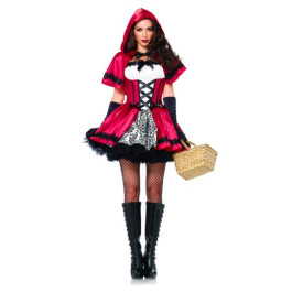Leg Avenue Gothic Red Riding Hood - costume cappuccetto rosso