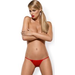 Perizoma rosso Luiza Thong Obsessive