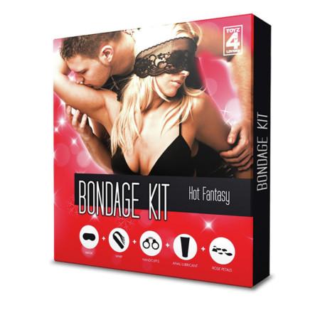 Toyz4Lovers Bondage Kit Hot Fantasy - kit del piacere
