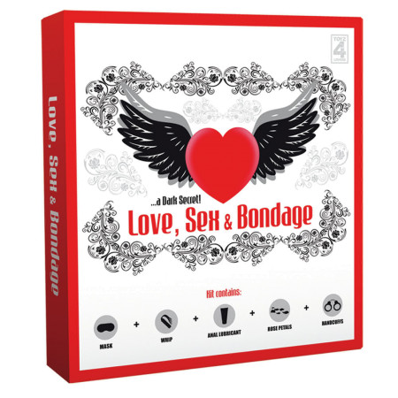 Toyz4Lovers Love Sex e Bondage - kit del piacere