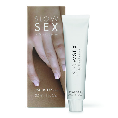 Gel stimolante Slow Sex - Finger Play Gel Bijoux Indiscrets