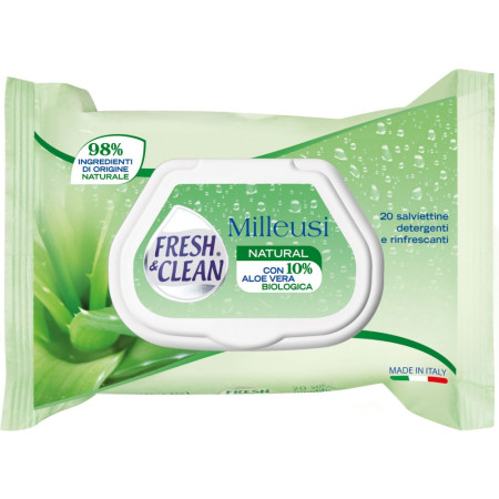 Fresh&Clean Milleusi White Musk - salviettine umidificate