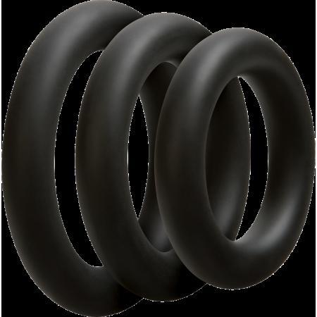 Doc Johnson 3 C-Ring Set Thick - set cockring