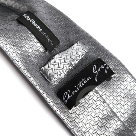 50 Sfumature di Grigio Christian Grey's Silver Tie - cravatta da uomo