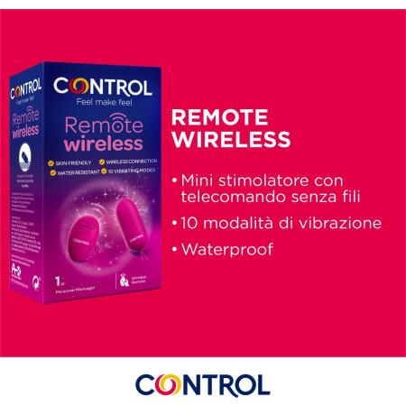 Remote wireless - ovetto vibrante Control