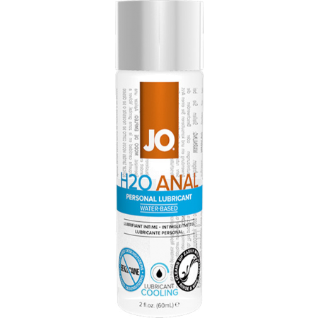 Lubrificante anale Anal H2O Cool System JO