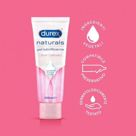Lubrificante a base acquosa Durex Naturals - Ultra Delicato