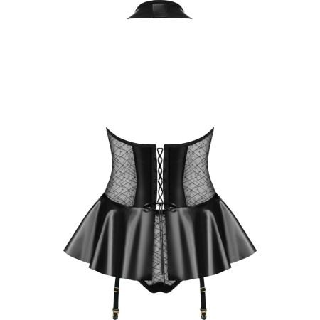 Corsetto con mutandine Obsessive Hot corset & panties