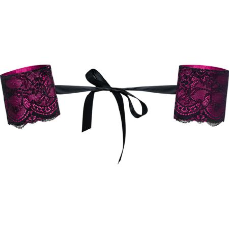 Manette in stoffa Roseberry Cuffs Obsessive