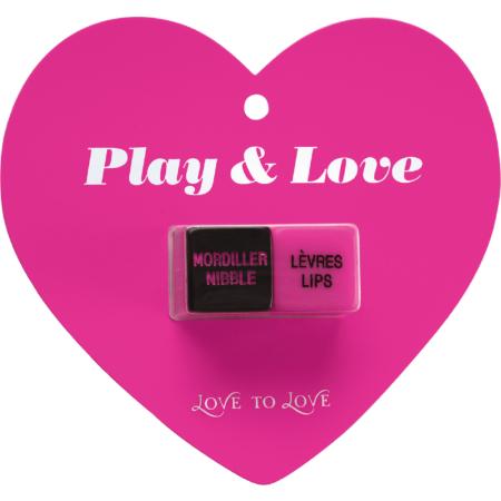 Dadi dell'amore Play e Love Dice Love to Love
