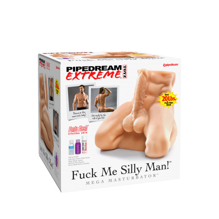 Bambolo realistico Fuck Me Silly Man! Pipedream - Extreme Toyz
