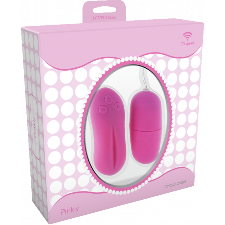 Toy4Lovers Pinkly - ovetto vibrante