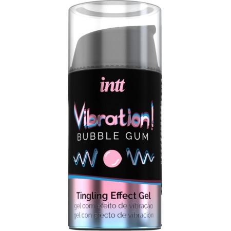 Gel stimolante Liquid Vibrator Bubble Gum Intt