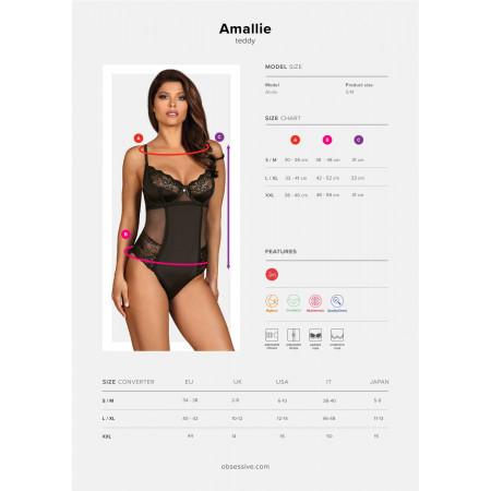 Amallie Body Nero Obsessive