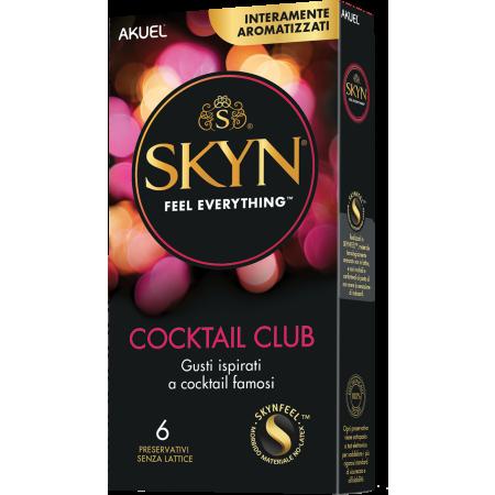 Akuel Skyn Cocktail Club - preservativi aromatizzati anallergici