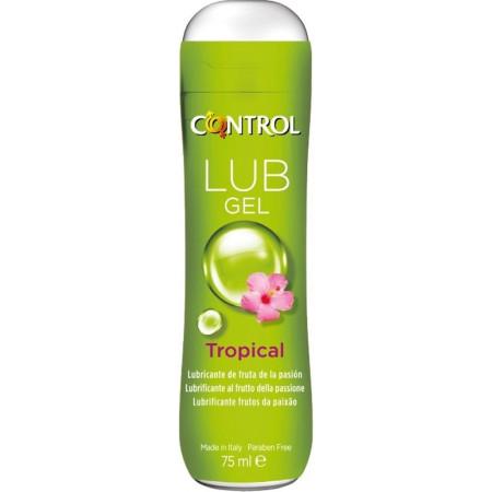 Gel lubrificante aroma frutto della passione Control Lub Gel Tropical