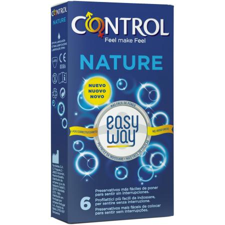 Control Nature Easy Way - preservativi classici con applicatore
