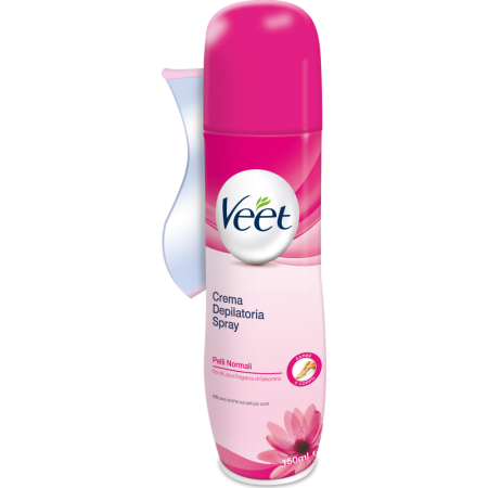 Crema depilatoria spray Crema spray pelli normali Veet