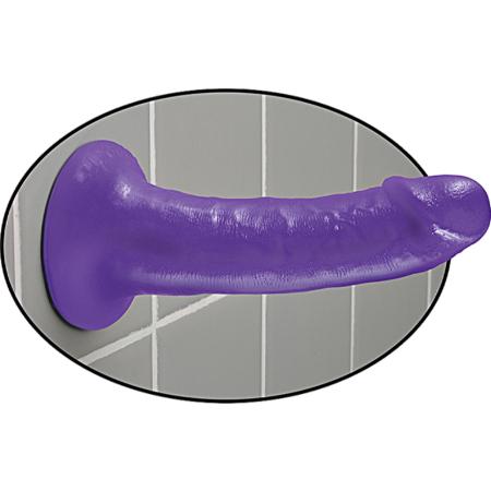 Dildo con ventosa Purple  6 Inch Slim Dillio Pipedream