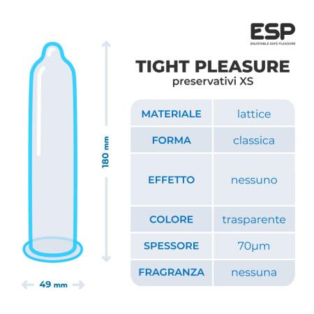 ESP Tight Pleasure - preservativi aderenti