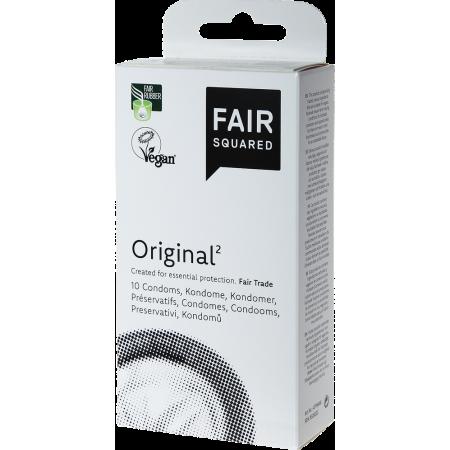 Preservativi classici vegani equosolidali Original² Fair Squared