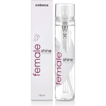 Spray detergente antibatterico Female Cobeco Shine Toycleaner Cobeco Pharma