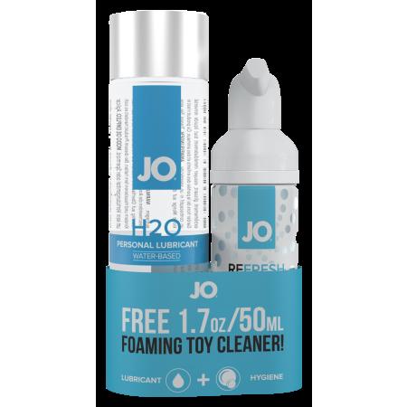 Lubrificante ad acqua con toycleaner H2O Original & Refresh System Jo