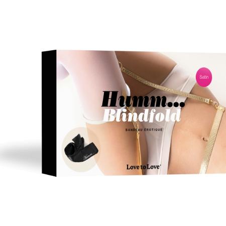 Benda erotica Hummm Blindfold Love to Love