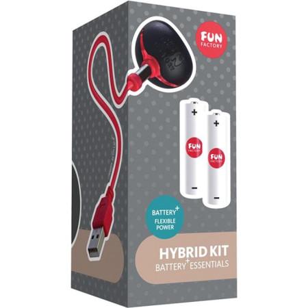 Kit con pile e caricatore Hybrid Kit Fun Factory