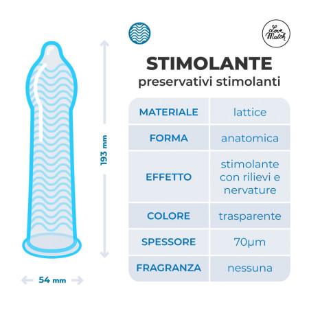 Lovematch Stimolante - 144 pezzi