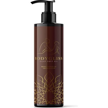 Olio da massaggio al silicone Bodygliss Silky Soft Oil Cocos&Rum- 150ml