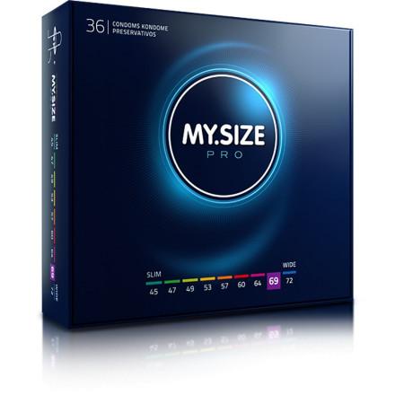 Preservativi MY.SIZE - profilattici per tutte le misure-69 mm