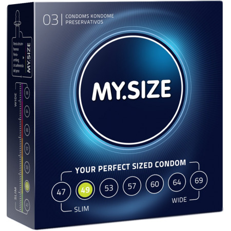 preservativi my size - preservativi su misura 49mm