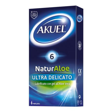 Preservativi ultra delicati Akuel Naturaloe