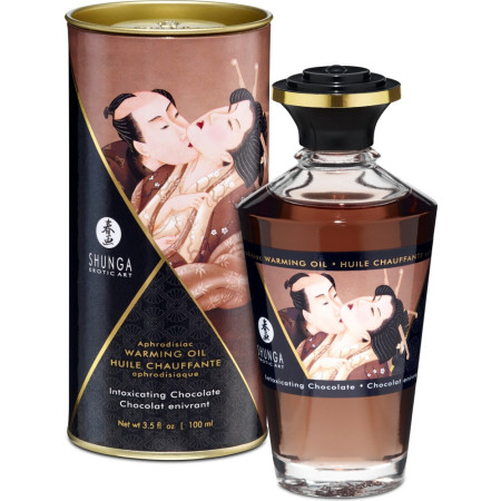 Shunga Aphrodisiac Oil Chocolate - olio da massaggio edibile