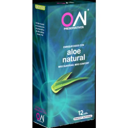 Preservativi extra lubrificati Aloe Natural Okamoto