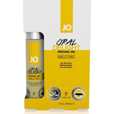 Gel per rapporti orali Oral Delight Vanilla Thrill System JO