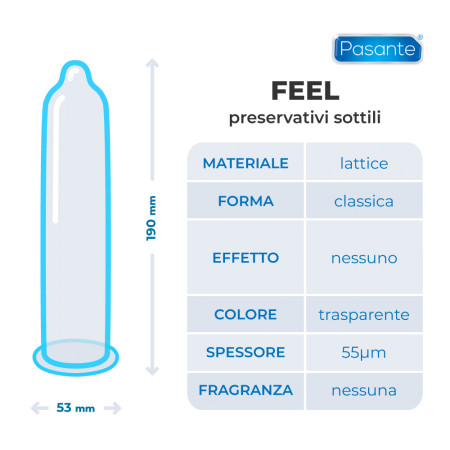 Pasante Feel - preservativi sottili