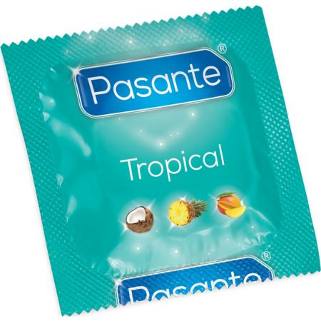Pasante Tropical - preservativi aromatizzati