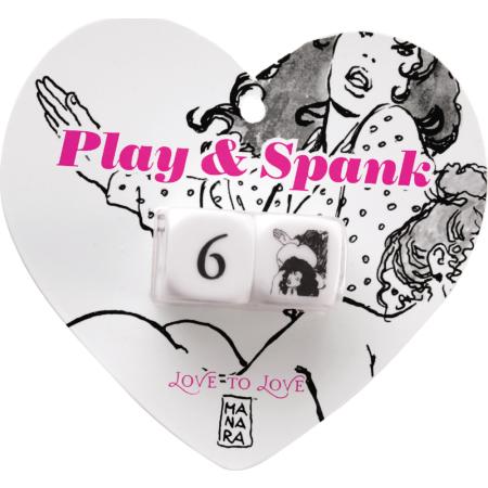 Dadi dell'amore Play e Spank Dice Love to Love