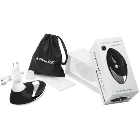Succhia clitoride Womanizer W500 Pro Black Chrome