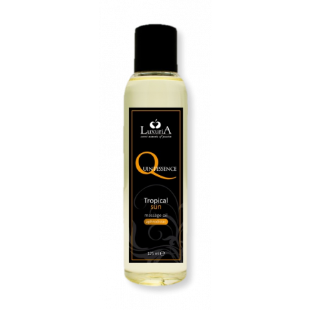 Luxuria Quintessence Tropical Sun - olio per massaggi