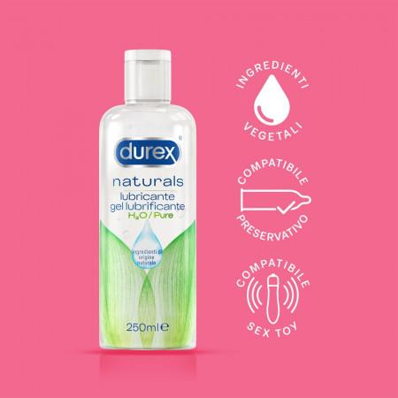 Lubrificante ad acqua Naturals Pure 250ml Durex
